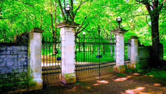 Toila Oru pargi väravad
