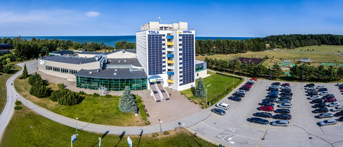 Toila SPA Hotell aerofoto